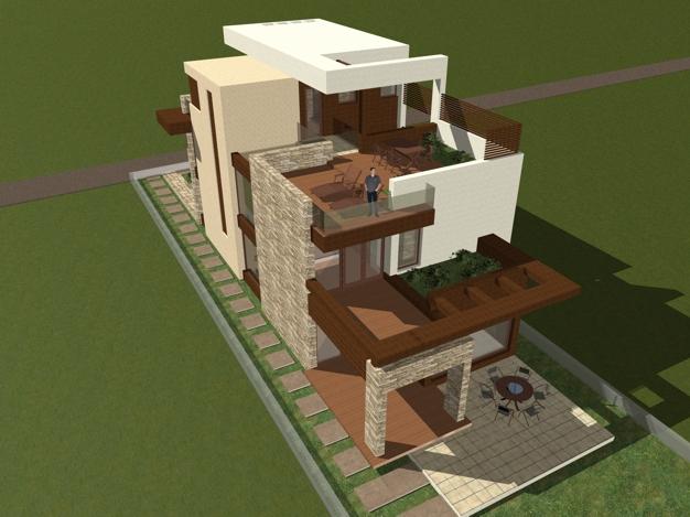 arhitectura moderna  casa